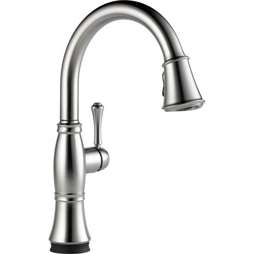 Delta Cassidy Touch2O Arctic Stainless Pull-Down Sprayer Kitchen Faucet 579593