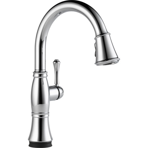 Delta Cassidy Touch2O Chrome Finish Pull-Down Sprayer Kitchen Faucet 579595
