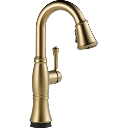 Delta Cassidy Touch2O Champagne Bronze Pull-Down Sprayer Bar Sink Faucet 579602