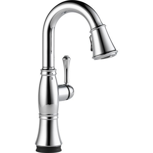 Delta Cassidy Touch2O Chrome Finish Pull-Down Sprayer Bar Sink Faucet 579603