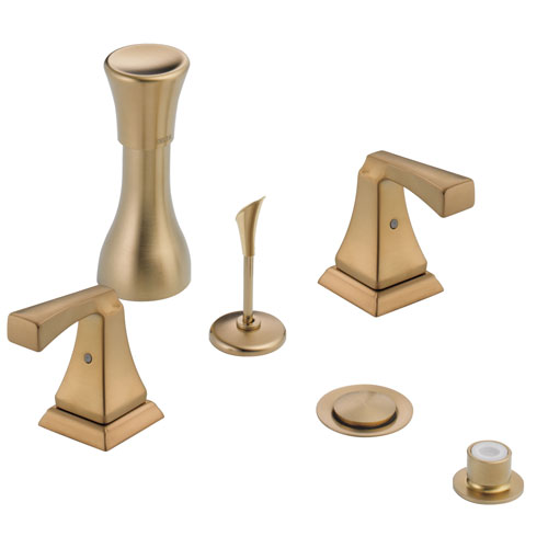Delta Champagne Bronze Finish Dryden Collection 4 Hole 6