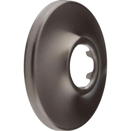 Delta Standard 2-1/2 inch Diameter Shower Arm Flange in Stainless Steel Finish 626997