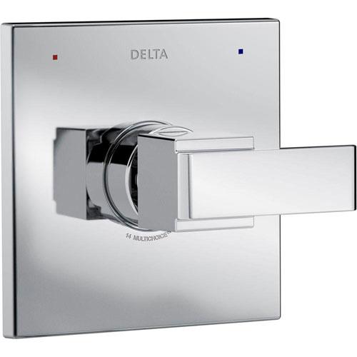 Delta Ara Monitor 14 Series 1-Handle Temperature Control Valve Trim Kit in Chrome (Valve Not Included) 660183