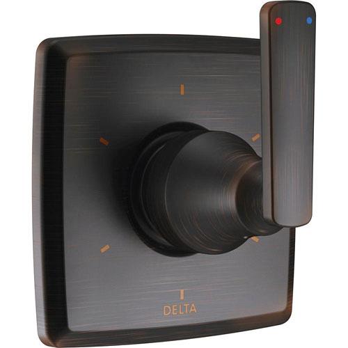 Delta Ashlyn 1-Handle 6 Setting Diverter Valve Trim Kit in Venetian Bronze (Valve Not Included) 685367
