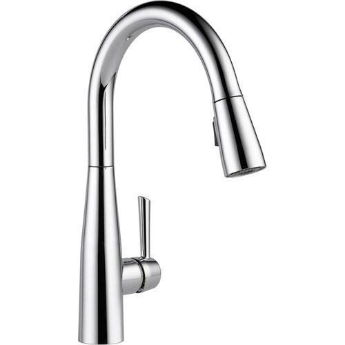 Delta Essa Single-Handle Pull-Down Sprayer Kitchen Faucet in Chrome with MagnaTite Docking 718188