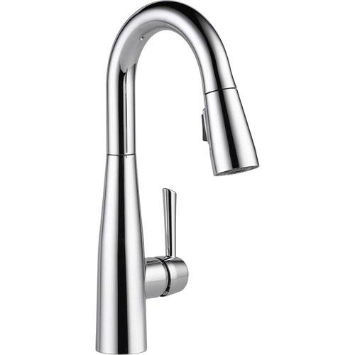 Delta Essa Single-Handle Bar Faucet in Chrome with MagnaTite Docking 718196