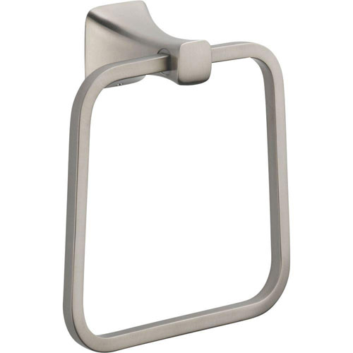 Delta Tesla Closed Towel Ring in Stainless 718258
