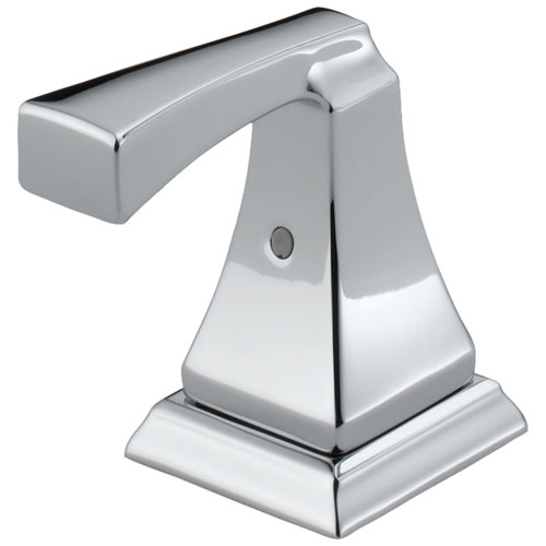 Delta Dryden Collection Chrome Finish Lavatory Metal Lever Handles - Quantity 2 Included DH251