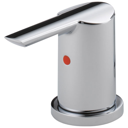 Delta Compel Collection Chrome Finish Lavatory Metal Lever Handles - Quantity 2 Included DH261