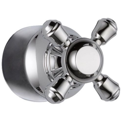 Delta Cassidy Collection Chrome Finish Diverter / Transfer Valve Cross Handle - Quantity 1 Included 579622