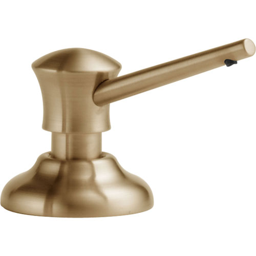 Delta Countertop Mount Champagne Bronze Finish Soap and Lotion Dispenser 542662