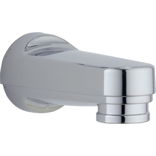 Delta Chrome Modern Pull-Down Diverter Tub Spout 801406