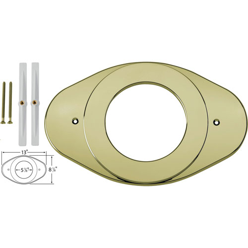 Delta Shower Valve Renovation Cover Plate in Polished