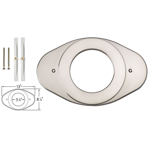Delta Stainless Steel Finish Shower Valve Renovation Cover Plate 528570