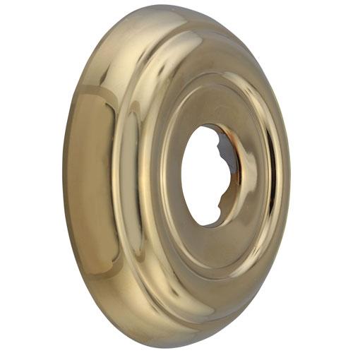 Delta Polished Brass Finish Standard Round Shower Arm Flange DRP38452PB
