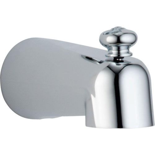 Delta Leland 5-1/2 inch Pull-Up Diverter Tub Spout in Chrome 643949