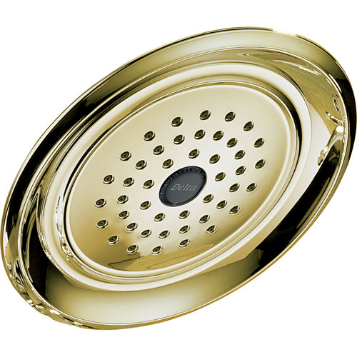 Delta Innovations 1-Setting Polished Brass 2.5 GPM Raincan Showerhead 476335