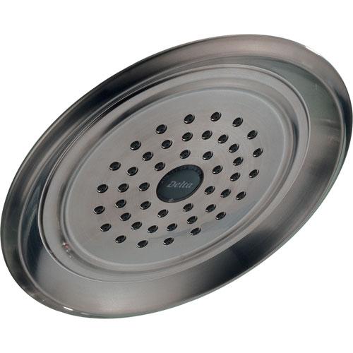 Delta Innovations 1-Setting Stainless Steel Finish Raincan Showerhead 388173