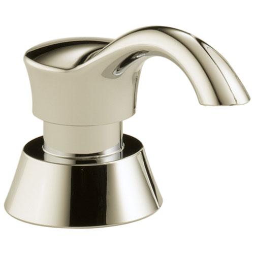Delta Polished Nickel Finish Deck Mount Soap / Lotion Dispenser DRP50781PN