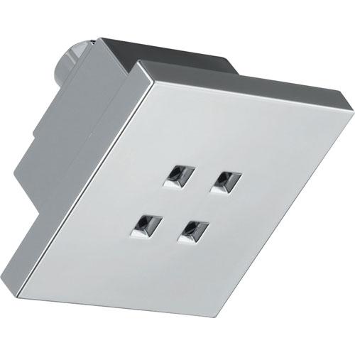 Delta H2OKinetic Modern Square Chrome Showerhead 388117