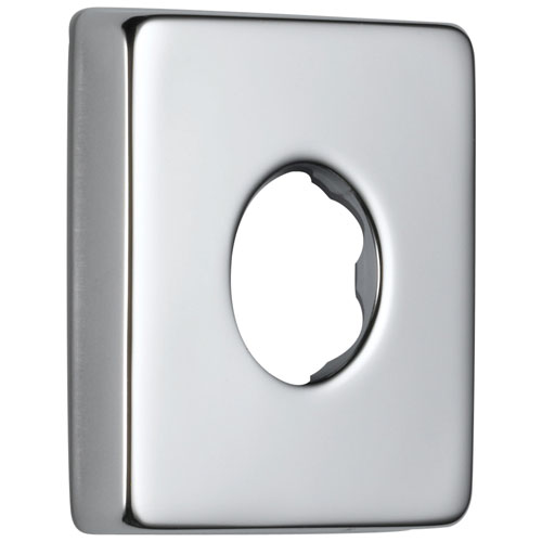Delta Polished Nickel Finish Modern Square Standard Shower Flange DRP51034PN