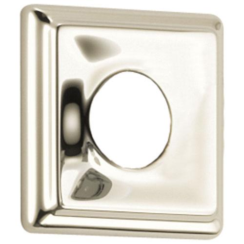 Delta Dryden Collection Polished Nickel Finish Square Standard Shower Flange DRP52144PN