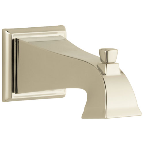 Delta Dryden Collection Polished Nickel Finish Pull-Up Diverter Tub Spout DRP52148PN