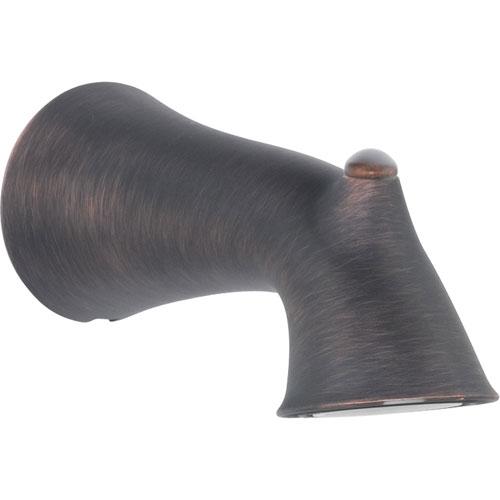Delta Lahara 6-3/4 in. Non-Diverter Tub Spout in Venetian Bronze 588656