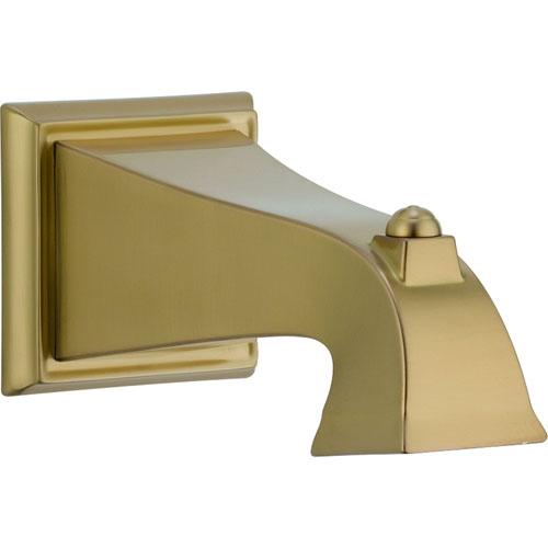 Delta Dryden Non-Diverter Tub Spout in Champagne Bronze 563312