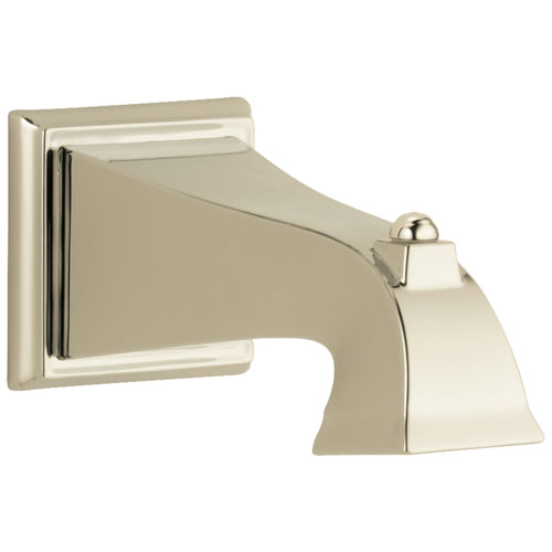 Delta Dryden Collection Polished Nickel Finish Non Diverter Tub Spout DRP54323PN