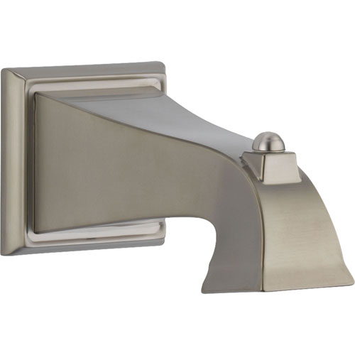 Delta Dryden 7-1/2 in. Non-Diverter Tub Spout in Stainless 587563