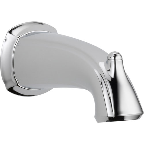 Delta Addison 7-1/2 in. Non-Diverter Tub Spout in Chrome 587564