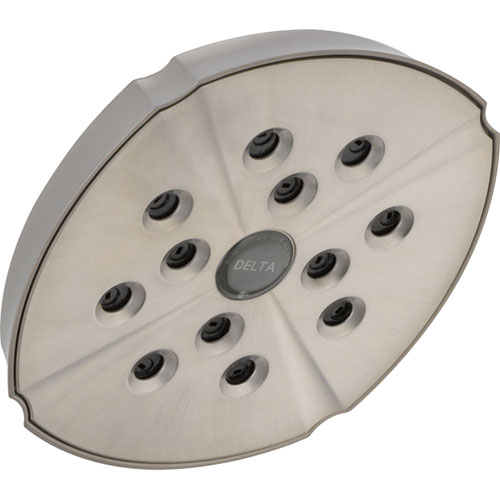 Delta Addison Modern Stainless Steel Finish H2OKinetic Shower Head 476370