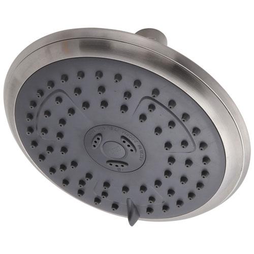 Delta Brushed Nickel Finish Water Efficient Round Shower Head DRP62171BN