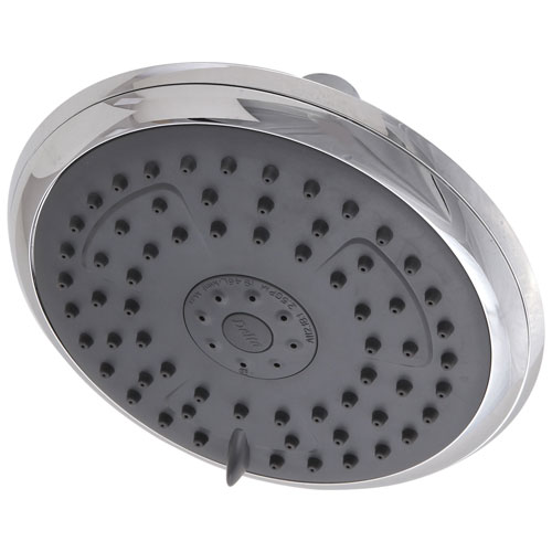 Delta Chrome Finish Water Efficient Round Shower Head DRP62171