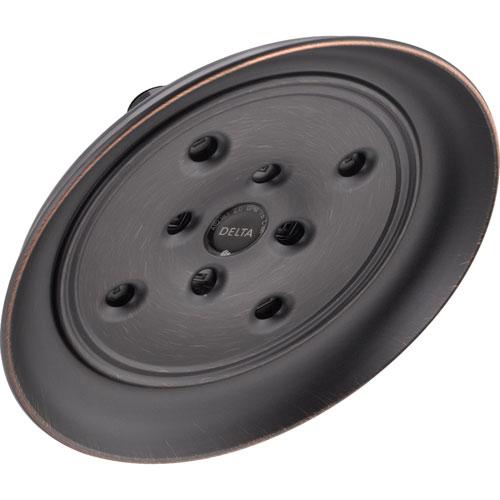 Delta 1-Spray 8 in. Large Rain H2Okinetic Shower Head in Venetian Bronze 572287