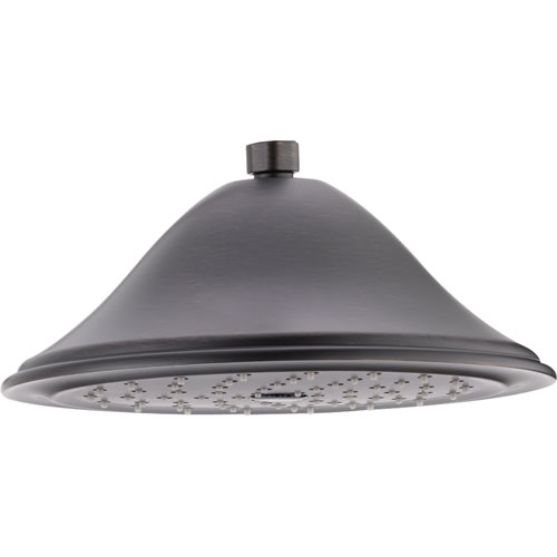Delta 1-Spray 9-3/8 inch Venetian Bronze Finish Large Rain Showerhead 584306