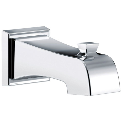 Delta Ashlyn Collection Chrome Finish Modern Wall Mount Non Diverter Tub Spout DRP77092