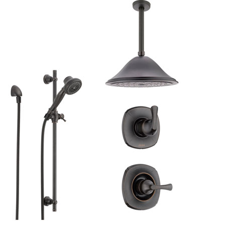 Delta Addison Venetian Bronze Shower System With Normal