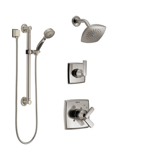 Bathroom Safety Hand Shower with Grab Bar Systems