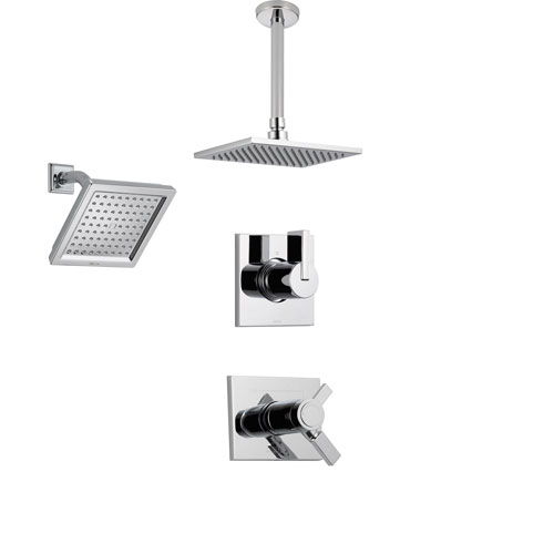 Delta Vero Chrome Shower System With Thermostatic Shower