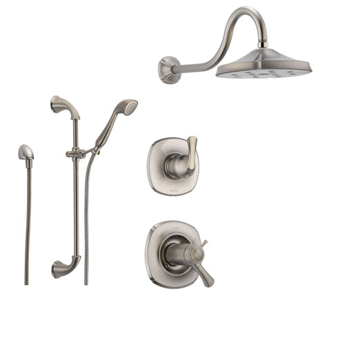 Delta Addison Stainless Steel Shower System With