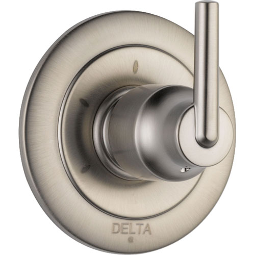 Delta Trinsic 3-Setting Stainless Steel Finish Shower Diverter Trim Kit 590199