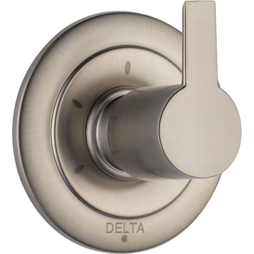 Delta Compel 3-Setting Stainless Steel Finish Shower Diverter Trim Kit 584048
