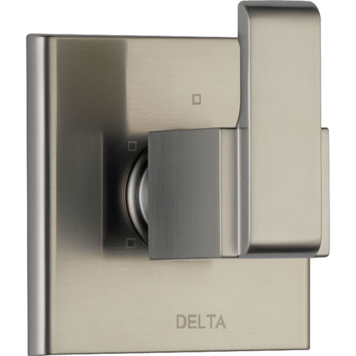 Delta Arzo Modern 3-Setting Stainless Steel Finish Shower Diverter Trim 560979