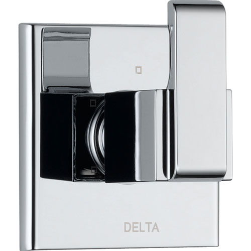 Delta Arzo 3-Setting Modern Chrome 1-Handle Shower Diverter with Valve D197V