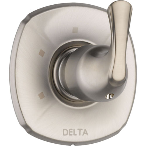 Delta Addison 3-Setting Stainless Steel Finish Shower Diverter with Valve D202V