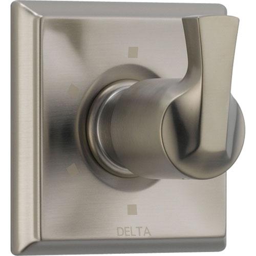 Delta 6-Setting Stainless Steel Finish 1-Handle Shower Diverter Trim Kit 560986