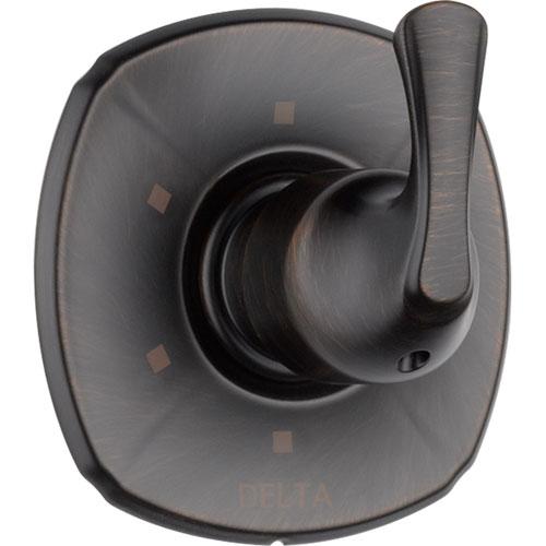 Delta Addison 6-Setting Venetian Bronze 1-Handle Shower Diverter Trim 560996