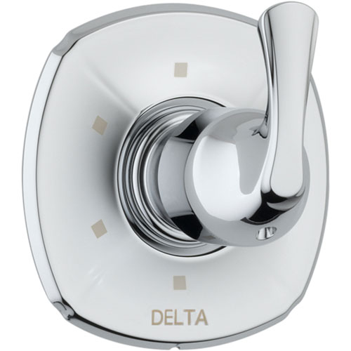 Delta Addison 6-Setting Chrome Single Handle Shower Diverter Trim Kit 542526
